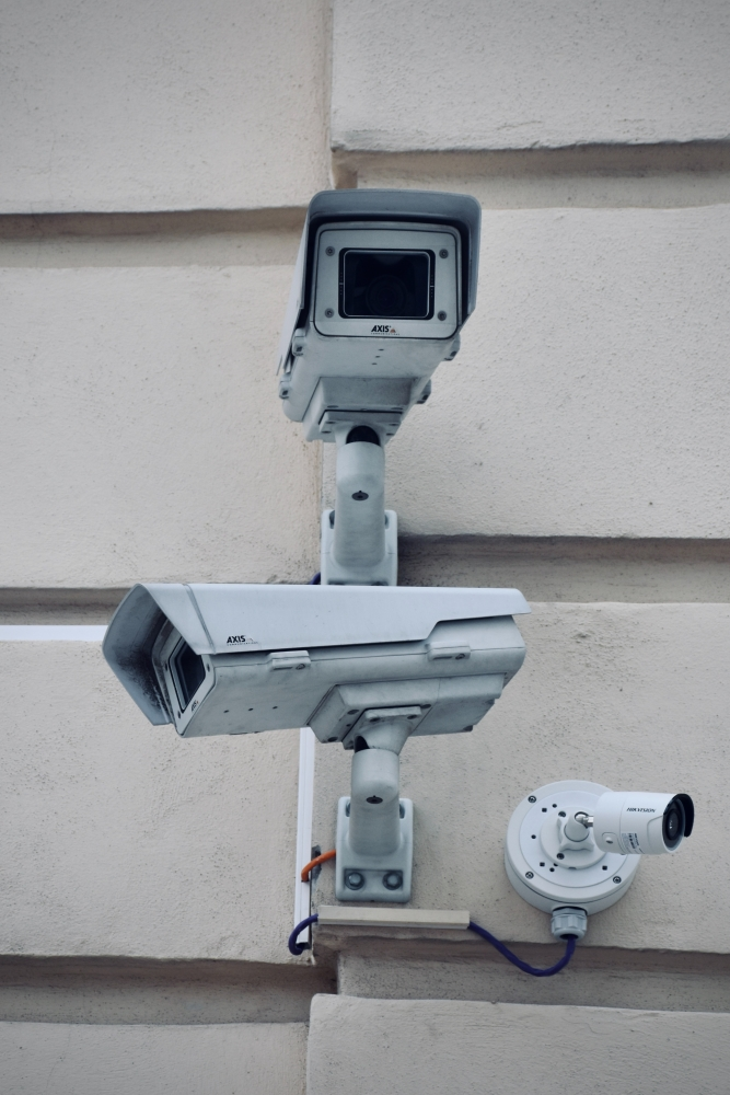 security cameras and alarm systems